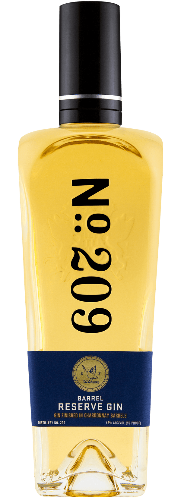 No. 209 Chardonnay Barrel Reserve Gin - Available at Wooden Cork