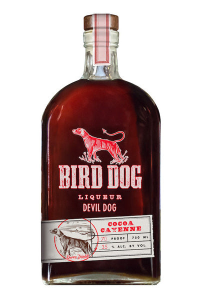 Bird Dog Devil Dog Cocoa Cayenne Liqueur - Available at Wooden Cork
