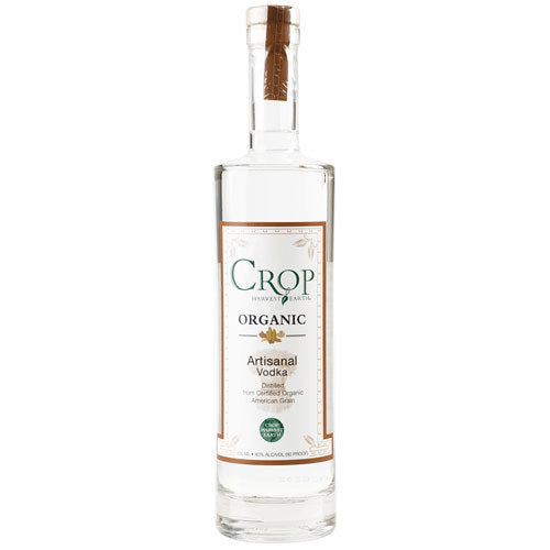 Crop Organic Artisanal Vodka - Available at Wooden Cork