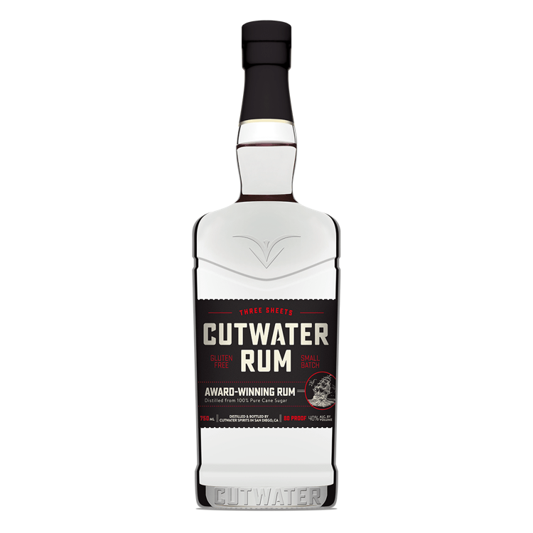 Cutwater Three Sheets Rum - Available at Wooden Cork