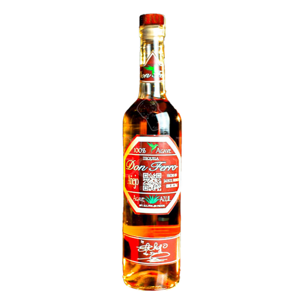 Tequila Don Ferro Anejo - Available at Wooden Cork