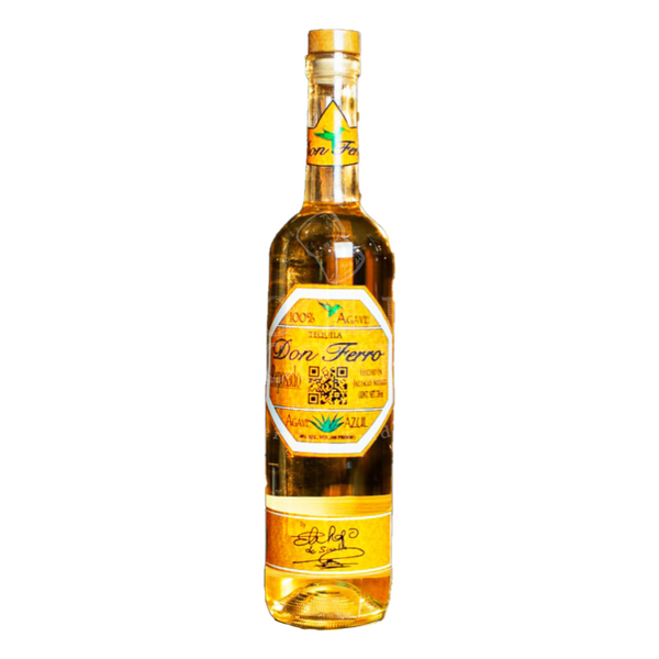 Tequila Don Ferro Reposado - Available at Wooden Cork