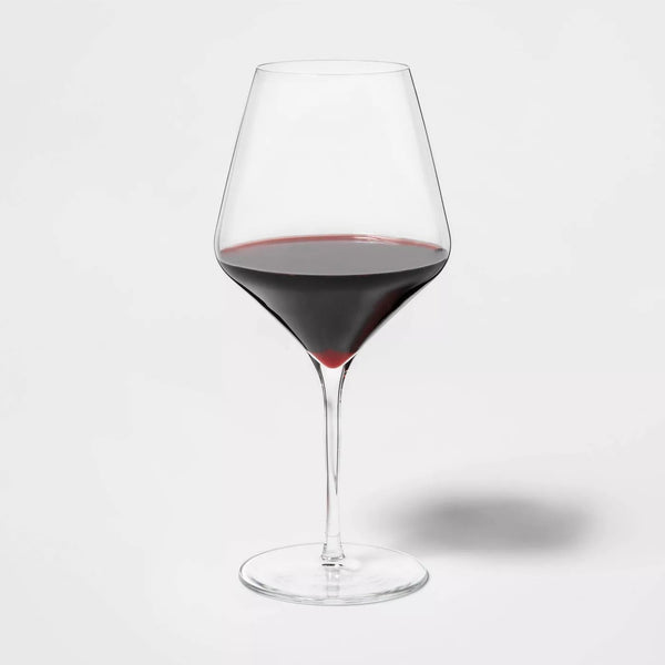 Glass Traditional Red Wine Glasses 24oz 4pk