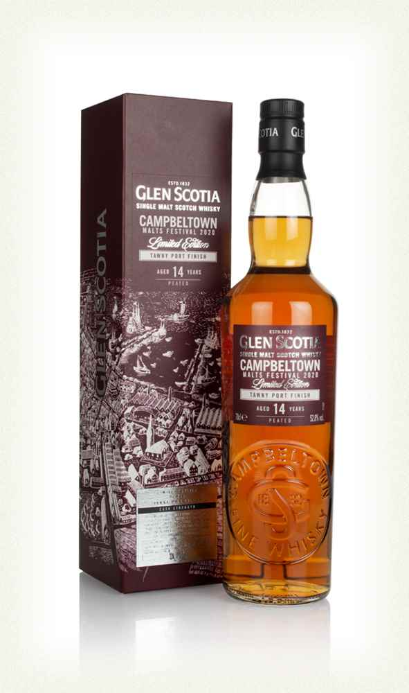 Glen Scotia 14 Year Old Tawny Port Finish - Campbeltown Malts Festival 2020 - Available at Wooden Cork