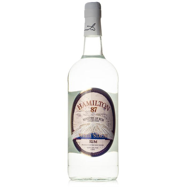 Hamilton 87 White 'Stache Rum - Available at Wooden Cork