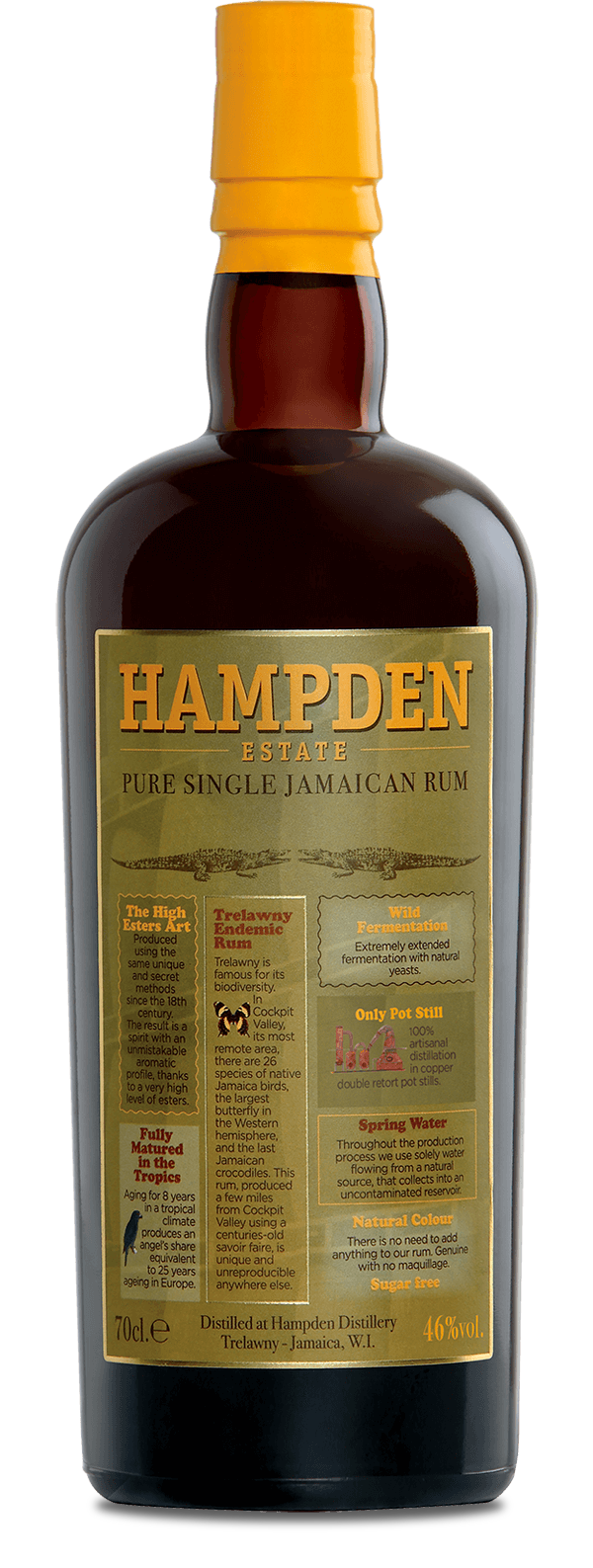 Hampden Estate Rum - Available at Wooden Cork