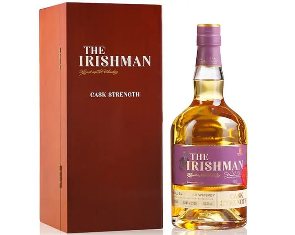 The Irishman Cask Strength 2020 - Available at Wooden Cork