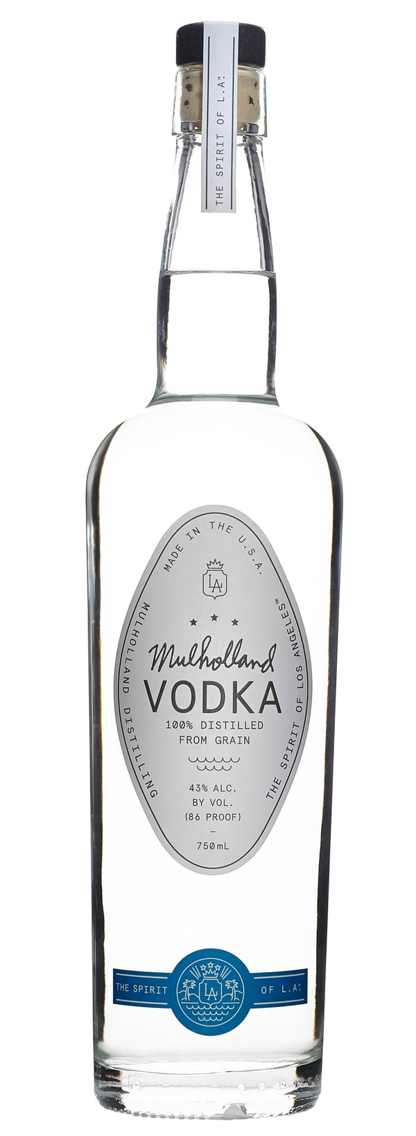 Mulholland Vodka - Available at Wooden Cork