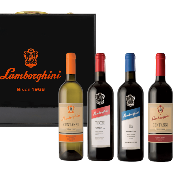 Lamborghini Ultimate: Trescone, Era, Red & White with Gift Case - Available at Wooden Cork
