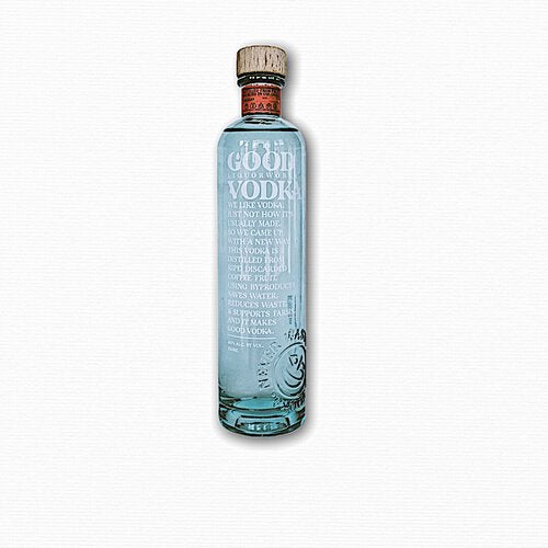 Good Liquorworks Vodka - Available at Wooden Cork
