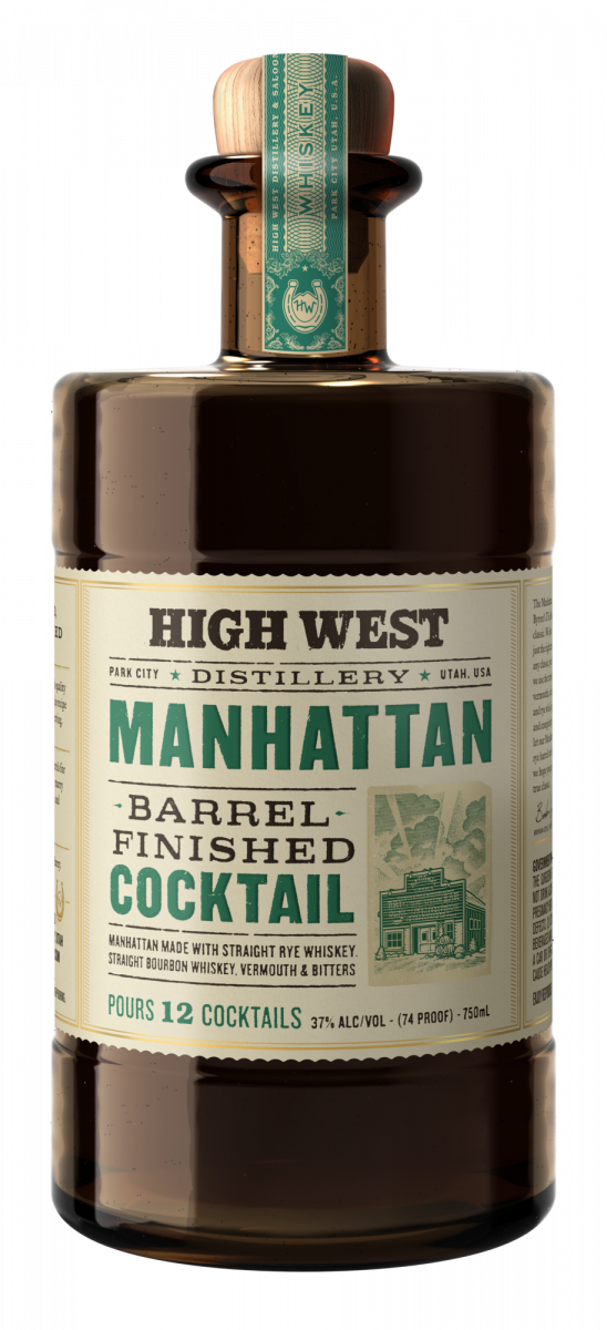 High West Manhattan Barrel Finished Cocktail - Available at Wooden Cork