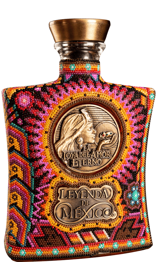 Leyenda De Mexico Tequila Extra Anejo 9 yrs Wixarika - Available at Wooden Cork