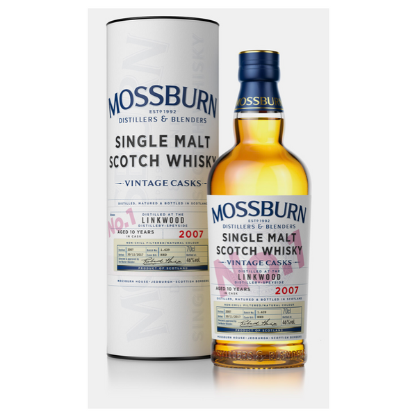 Mossburn Vintage Casks Scotch Whiskey - Available at Wooden Cork