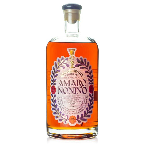 Nonino Quintessentia Amaro Liqueur - Available at Wooden Cork