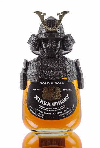 Nikka Gold & Gold Samurai - Available at Wooden Cork