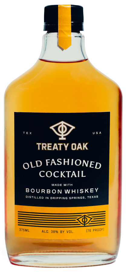 Treaty Oak Old Fashioned Cocktail - Available at Wooden Cork