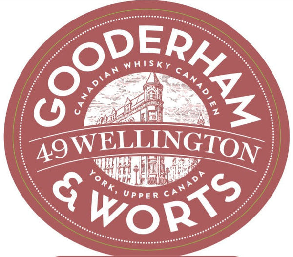 Gooderham & Worts 49 Wellington Whisky - Available at Wooden Cork