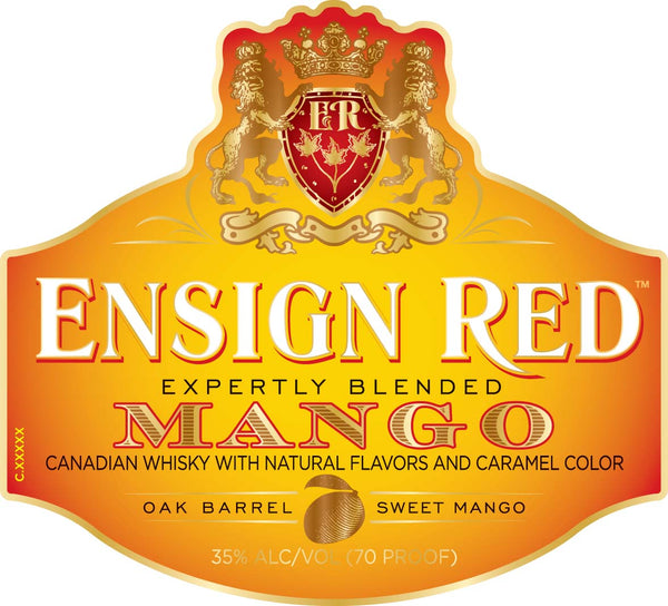 Ensign Red Mango Whisky - Available at Wooden Cork