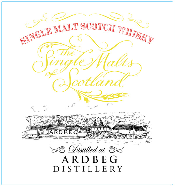 Ardbeg The Single Malts of Scotland Scotch Whisky - Available at Wooden Cork
