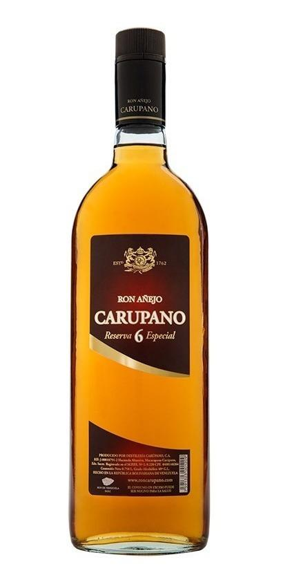 Ron Añejo Carúpano Reserva 6 Especial Rum - Available at Wooden Cork