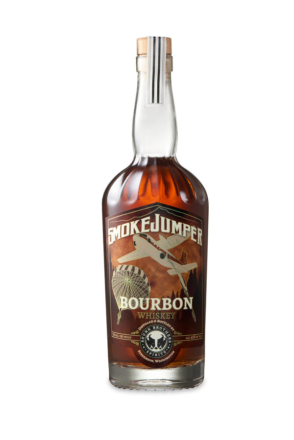 Skunk Brothers Spirits SmokeJumper Bourbon - Available at Wooden Cork