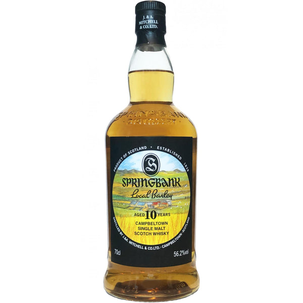 Springbank 10 Year Local Barley Cask Strength Single Malt Whisky Campbeltown - Available at Wooden Cork