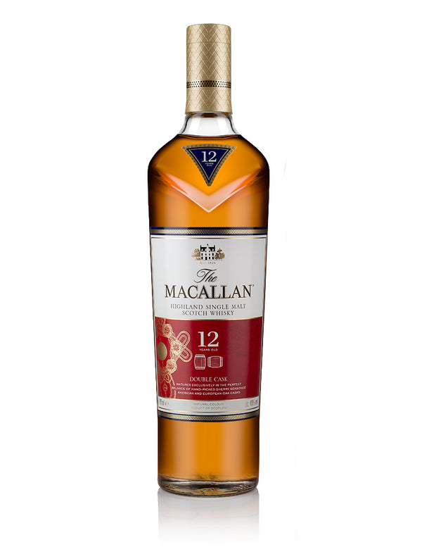 The Macallan 12 Years Old Double Cask Highland Single Malt Scotch Whiskey Lunar New Year Edition 2020 - Available at Wooden Cork