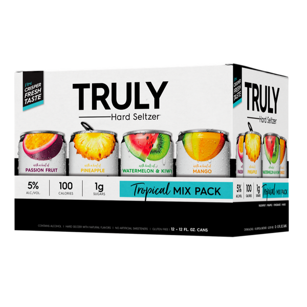 TRULY Hard Seltzer Tropical Mix Pack 12pk  by TRULY