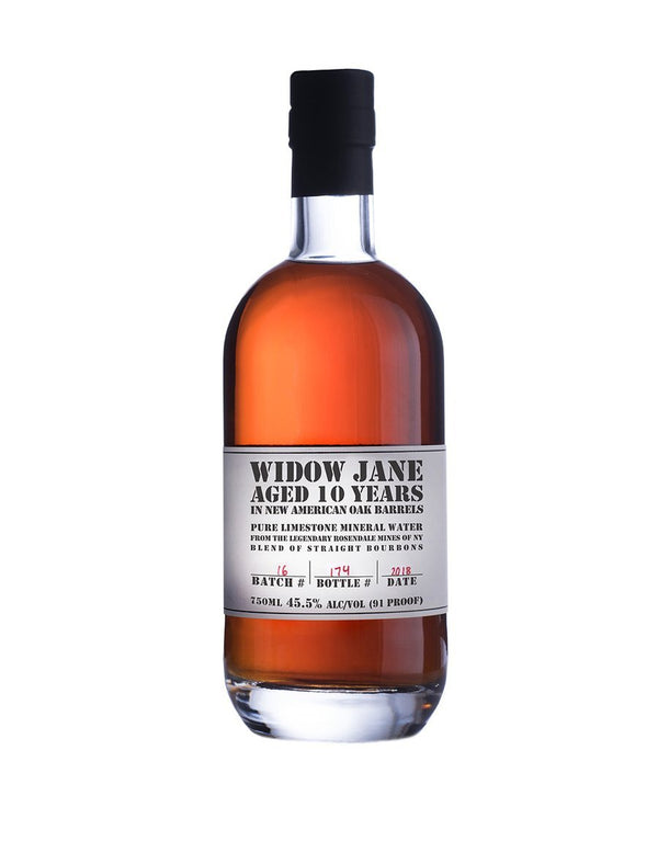 Widow Jane 10 Year Straight Bourbon Whiskey - Available at Wooden Cork