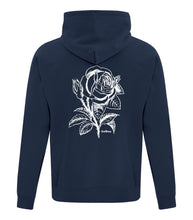 Load image into Gallery viewer, Excessive Vibes Hoodie - Navy Blue
