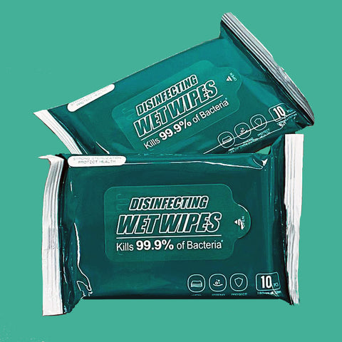 Disinfecting Wipes Travel Pack (10 ct)
