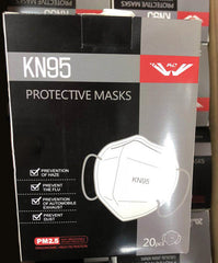 KN95 Masks <br>(Box of 20)