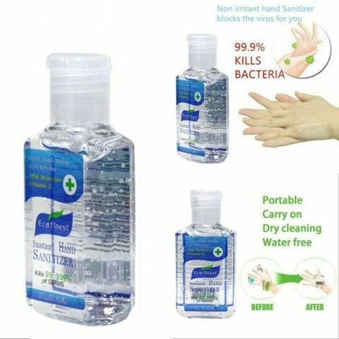 Hand Sanitizer - 60ml Travel Bottle