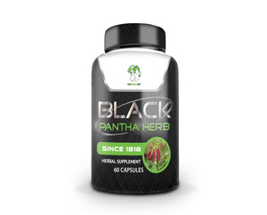 Black Pantha Herb-Natural Remedy for Inflammation, Diabetes, Blood Pressure & Immunity Booster