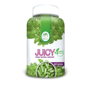 JUICY-Natural Female Lubricant (Easy to swallow pills)