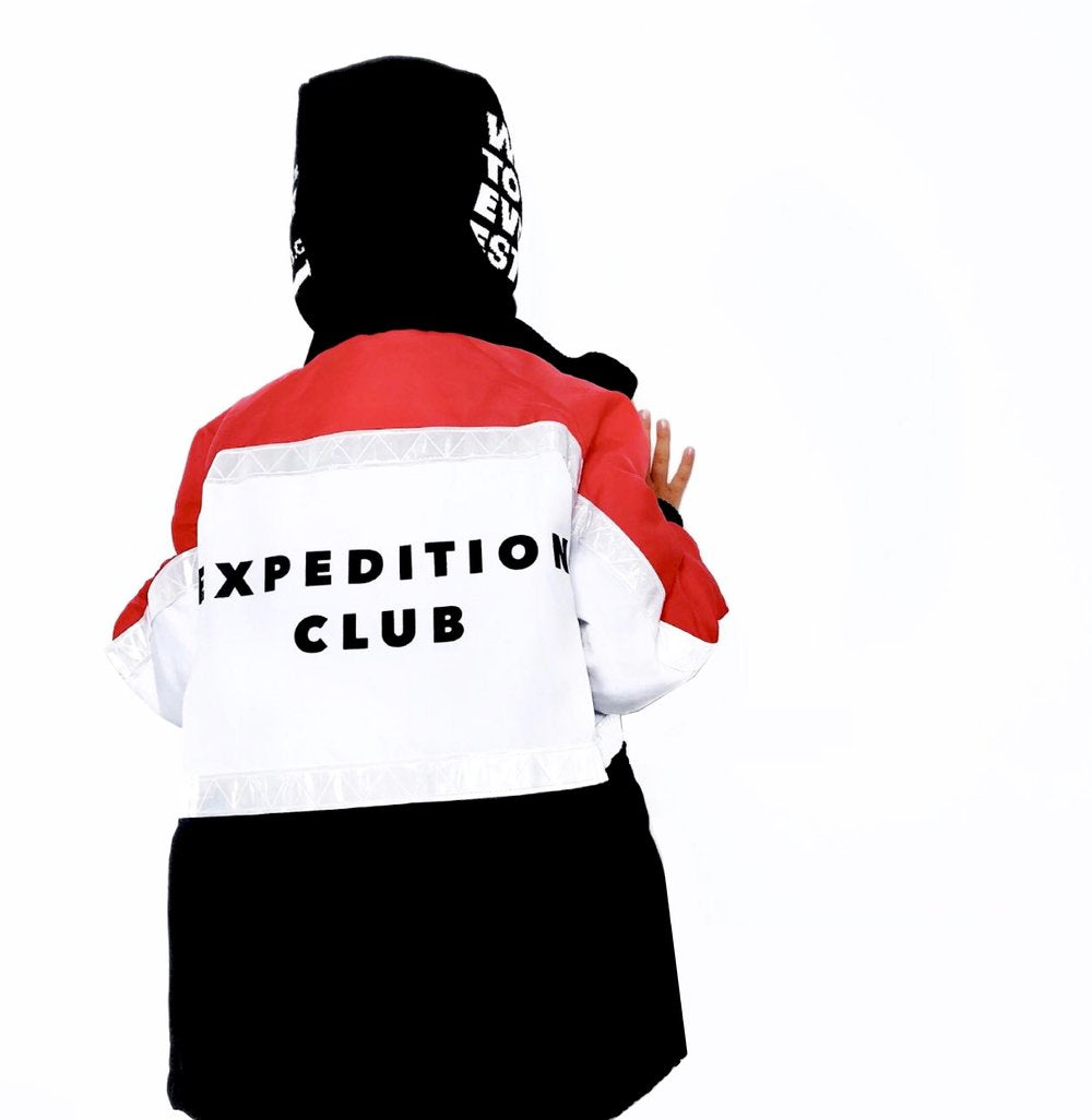 'Expedition Club' Parka Jacket - BULB LONDON