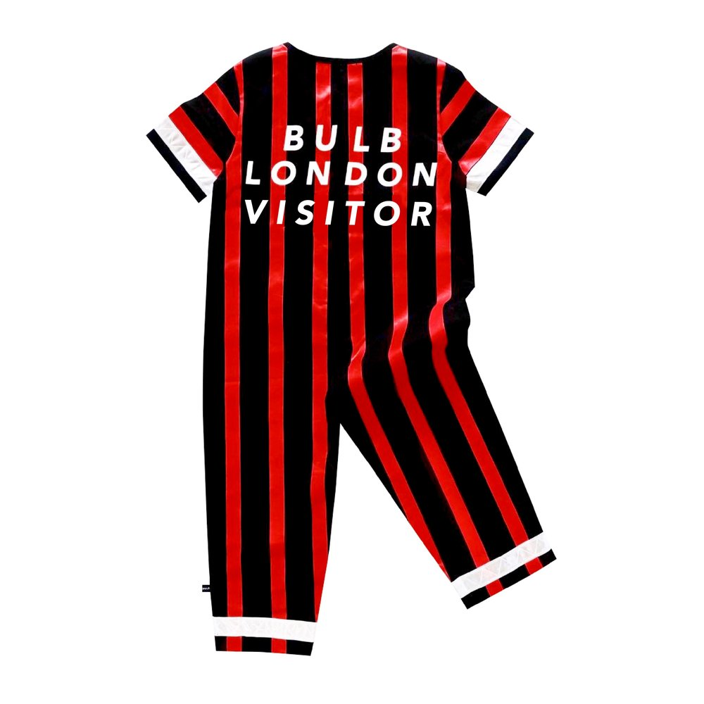 'Bulb London Visitor' Red Jumpsuit - BULB LONDON