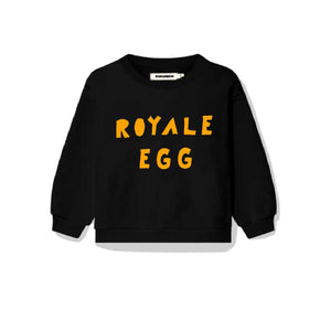 'Royale Egg' Black Sweatshirt