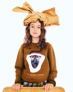 'My Passport Picture' Monkey Sweatshirt