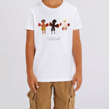 Load image into Gallery viewer, 'We Need To Fight For Each Other' White T-shirt - BULB LONDON