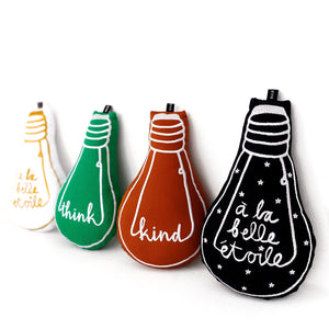 'think' bulb cushion - BULB LONDON