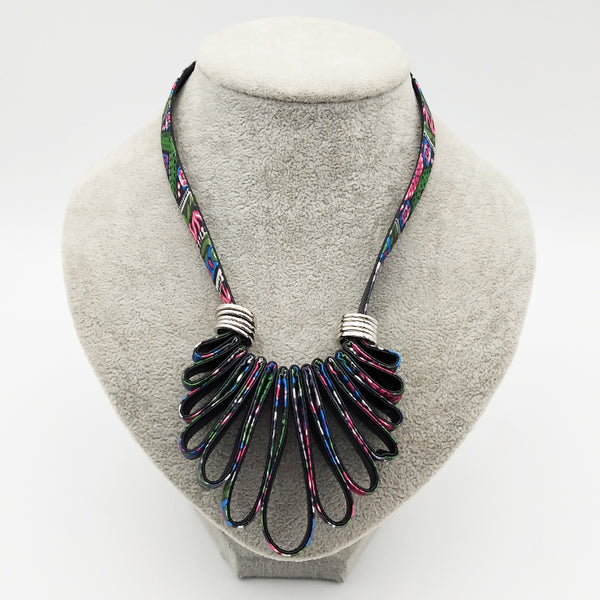 Multi Color Fabric Jewelry 2