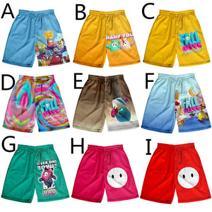 Fall Guys Quick Dry Beach Shorts Swim Trunks Bathing Suits