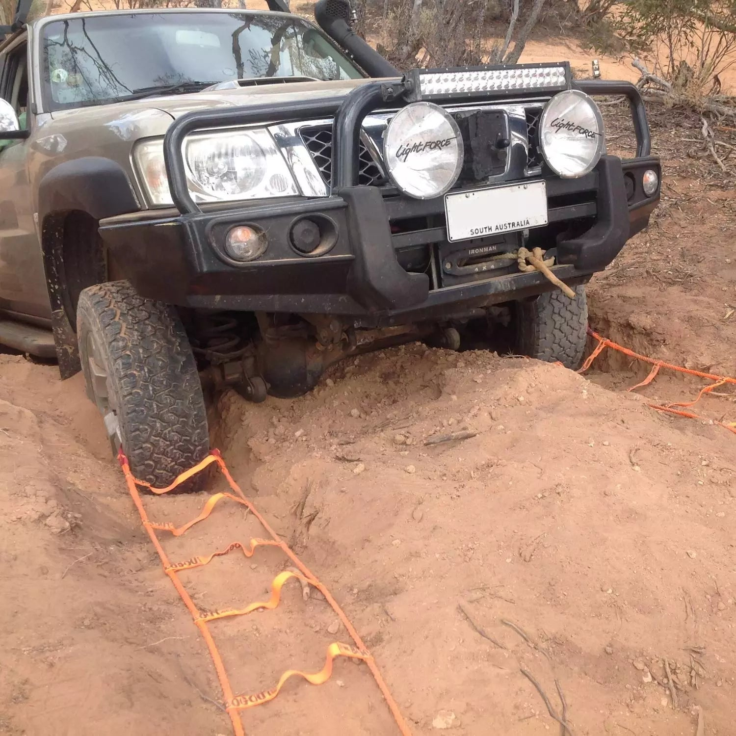 Bog Out' Turns Your Wheel Into a Winch, Gets You Unstuck From Anything