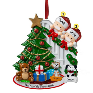 🎄Personalized Family Portrait🎄 2020 Christmas Ornament Made By 3D Printer