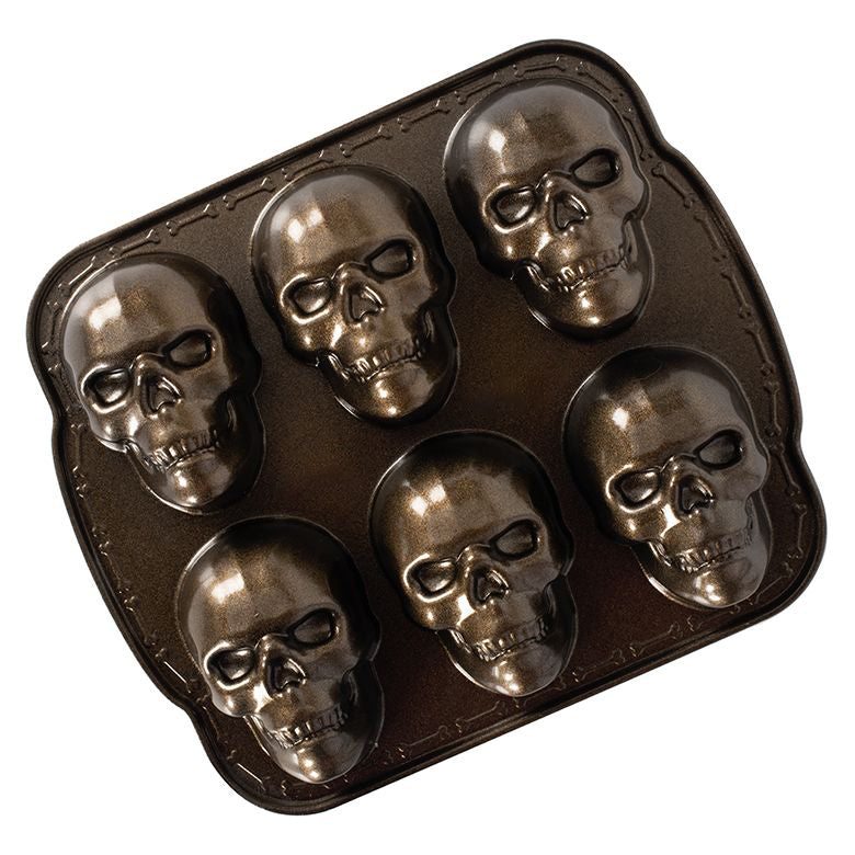 Horrible skull pizza cake mold(BUY 2 FREE SHIPPING)