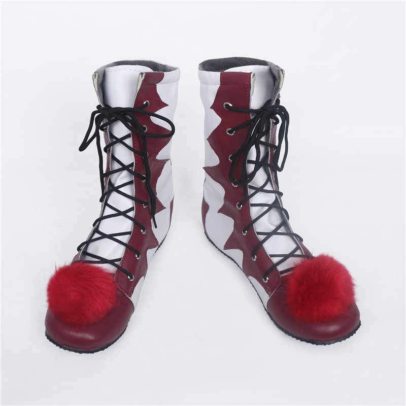 Halloween Movie Stephen King IT Cosplay Shoes