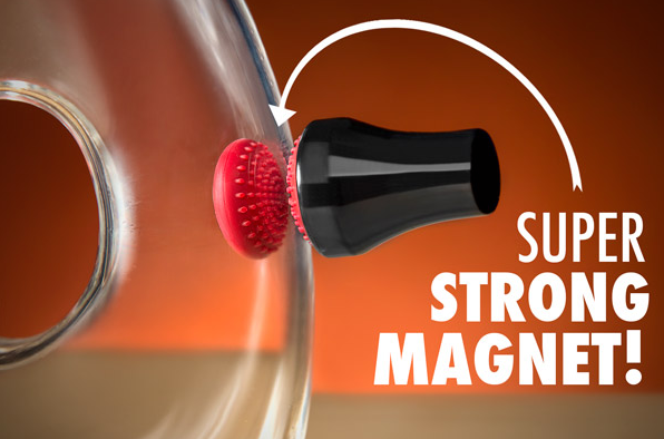 Magnetic Spot Scrubber-Easily clean your oddly shaped glassware