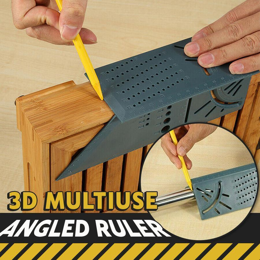 3D Multifunction Measuring Ruler