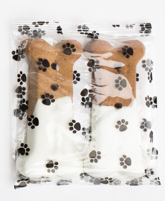 Vanilla Dipped Dog Bones- Large (3)